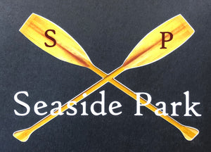 Seaside Park Crossed Oars Decal