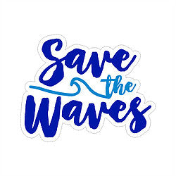Sticker - Save the Waves
