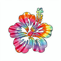 Sticker - Hibiscus