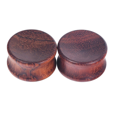 All Size Wooden Red Wood Ear Plugs