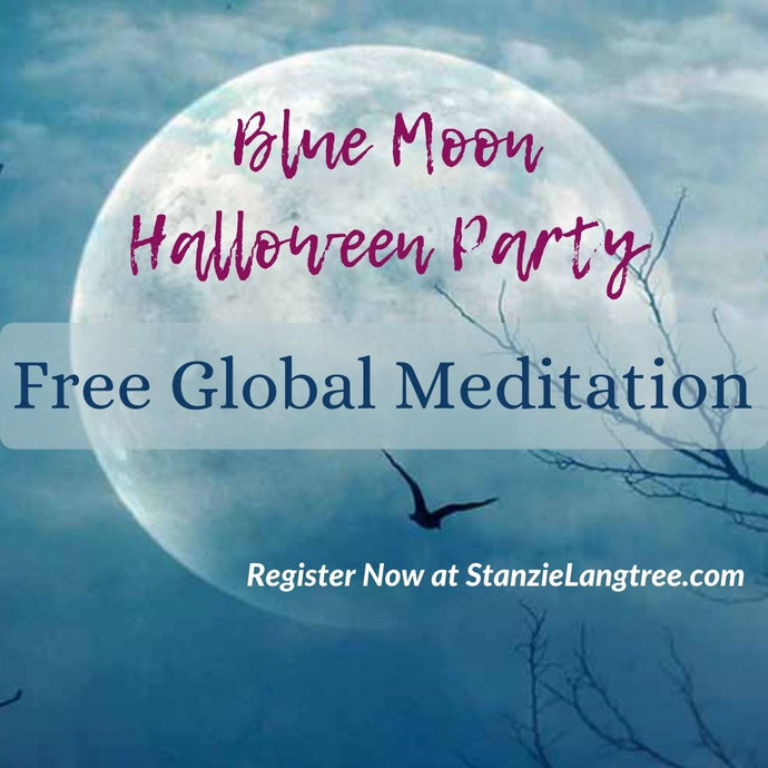 Blue Moon Halloween - Free Meditation
