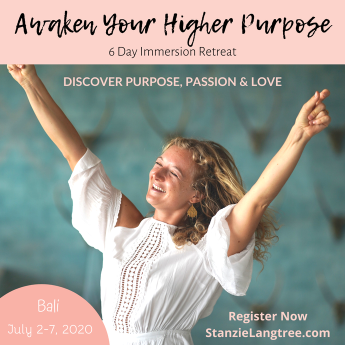 Awaken Your Higher Purpose - BALI - July 2-7 - EARLY BIRD SPECIAL