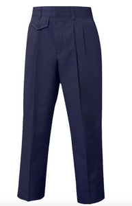FEMALE PLEATED PANTS- NAVY