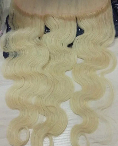 Platinum Colored Frontal