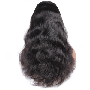 Natural Black Wigs - 150% Density