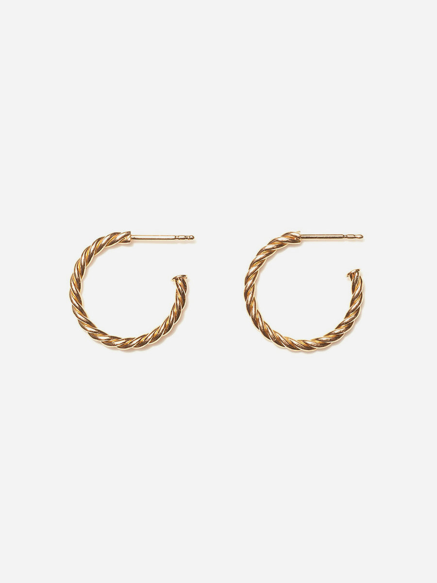 HOOP EARRINGS – ROSE GOLD