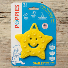 Load image into Gallery viewer, SMILEY the Star Teether