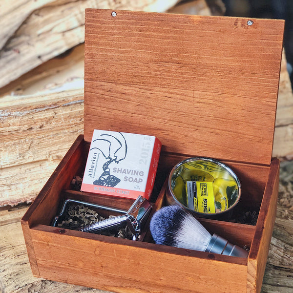 Mossy Barber Shaving Kit & Shave Soaps