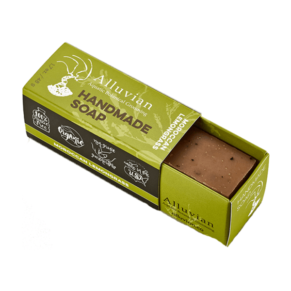 Moroccan Red Clay Soap - Travel Size - mossybarber.com