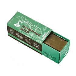 Norwegian Spear Spirulina Bar Soap - Travel Size - mossybarber.com