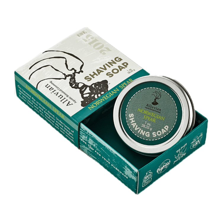 Norwegian Spear Neroli Shave Soap - Travel Size - mossybarber.com