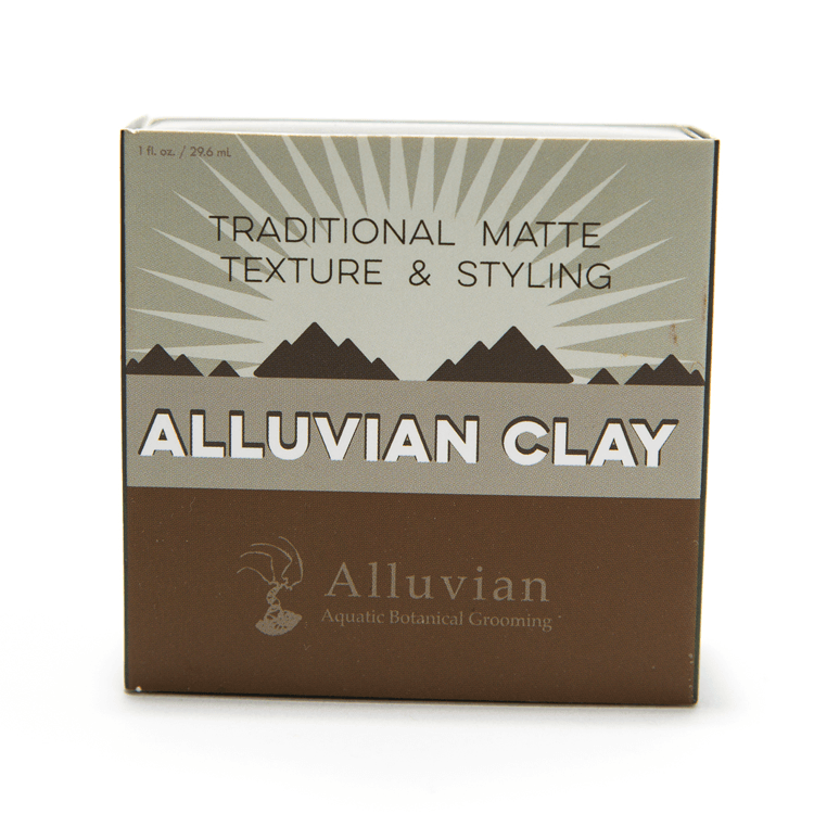 Alluvian Hair Styling Clay - mossybarber.com
