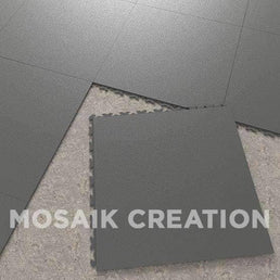 DALLE MOSAIK PVC JOINTS INVISIBLES ∙ GRAPHITE
