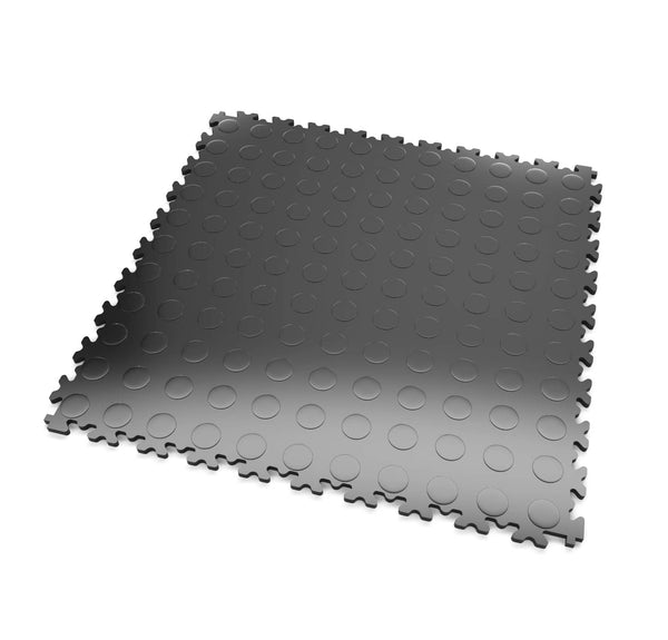 DALLE PVC MOSAÏK ∙ SURFACE PASTILLÉE ∙ GRAPHITE