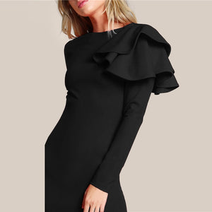 BELLA RUFFLE DRESS