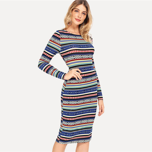 DAY TO NIGHT MIDI DRESS