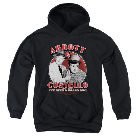 Abbott And Costello Bad Boy Youth Cotton Poly Pull-Over Hoodie