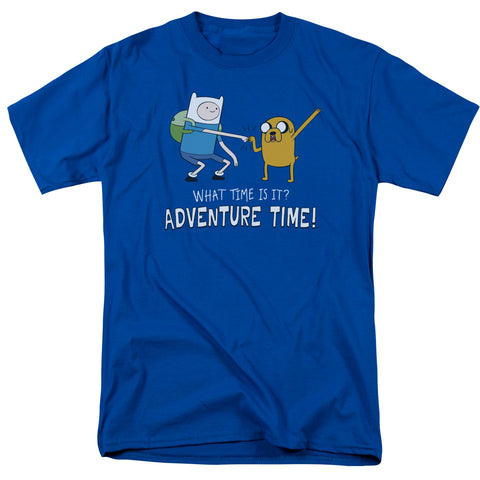 Adventure Time Fist Bump Men's 18/1 Cotton SS T