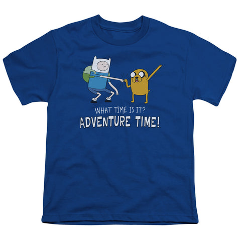 Adventure Time Fist Bump Youth 18/1 100% Cotton SS T