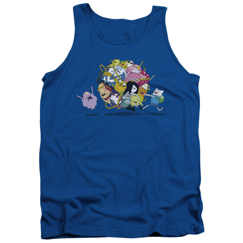 Adventure Time Glob Ball Men's 18/1 Cotton Tank Top