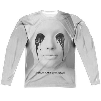 American Horror Story Nun Men's Regular Fit Polyester LS T