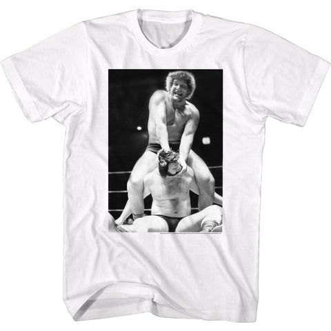 Andre The Giant Special Order Cracked Adult S/S T-Shirt