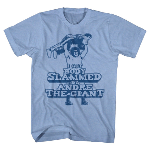 Andre The Giant Special Order Slammed Adult S/S T-Shirt