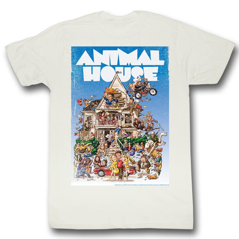 Animal House Special Order Poster Time Adult S/S T-Shirt
