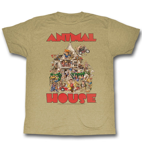 Animal House Special Order The House Adult S/S T-Shirt