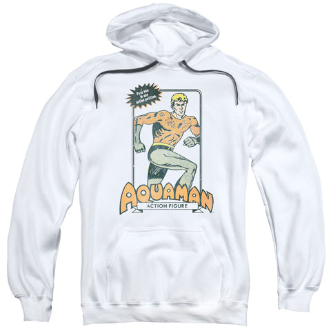 Aquaman Am Action Figure Men's Pull-Over 75 25 Poly Hoodie
