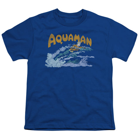 Aquaman Aqua Swim Youth 18/1 100% Cotton SS T