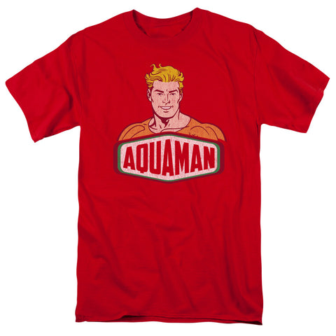 Aquaman Aquaman Sign Men's 18/1 Cotton SS T