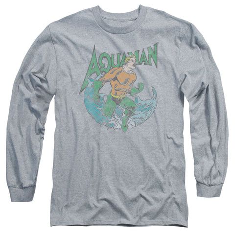 Aquaman Marco Men's 18/1 Cotton LS T