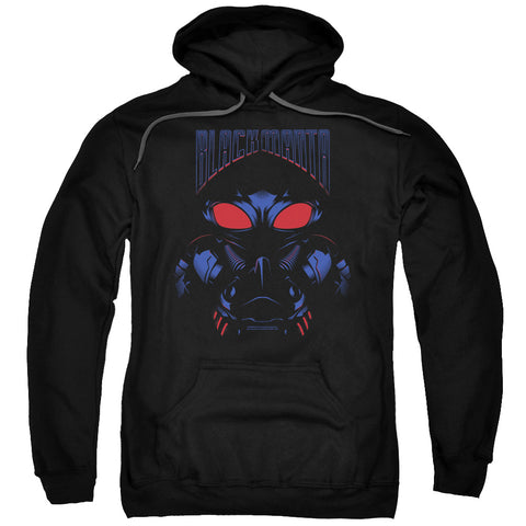 Aquaman Movie Black Manta Men's Pull-Over 75 25 Poly Hoodie