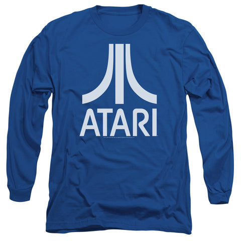 Atari Atari Logo Men's 18/1 Cotton LS T