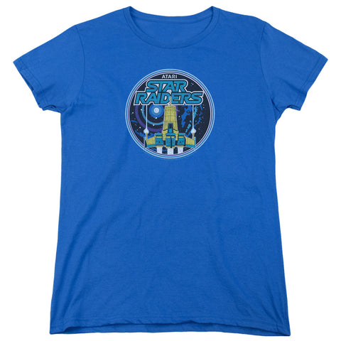 Atari Badge Women's 18/1 Cotton SS T