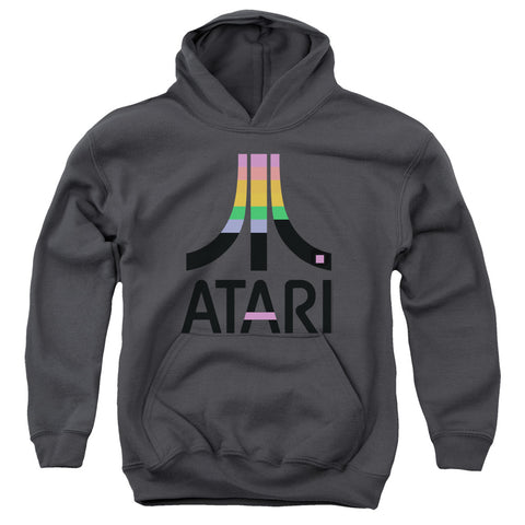 Atari Breakout Inset Youth Cotton Poly Pull-Over Hoodie