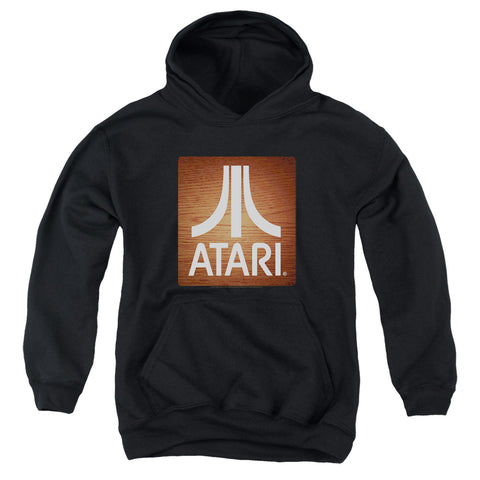 Atari Classic Wood Square Youth Cotton Poly Pull-Over Hoodie