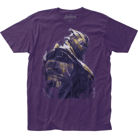 Avengers: End Game Thanos fitted jersey tee - Men's - 100% Cotton