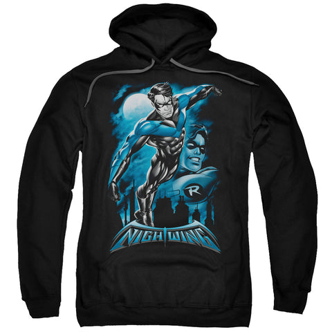 Batman All Grown Up Men's Pull-Over 75 25 Poly Hoodie