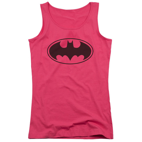 Batman Black Bat Junior's 100% Cotton Tank Top
