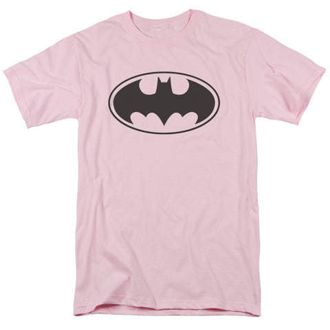 Batman Black Bat Men's 18/1 Cotton SS T