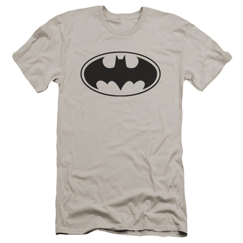 Batman Black Bat Men's Ultra-Soft 30/1 Cotton Slim SS T