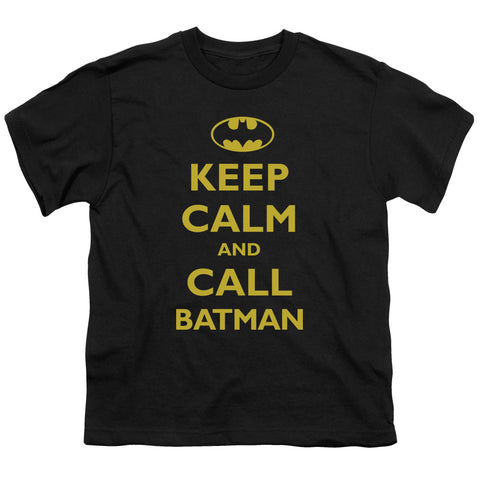Batman Call Batman Youth 18/1 100% Cotton SS T