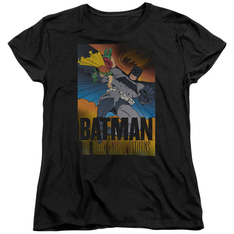 Batman Dk Returns Women's 18/1 Cotton SS T