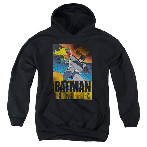 Batman Dk Returns Youth Cotton Poly Pull-Over Hoodie
