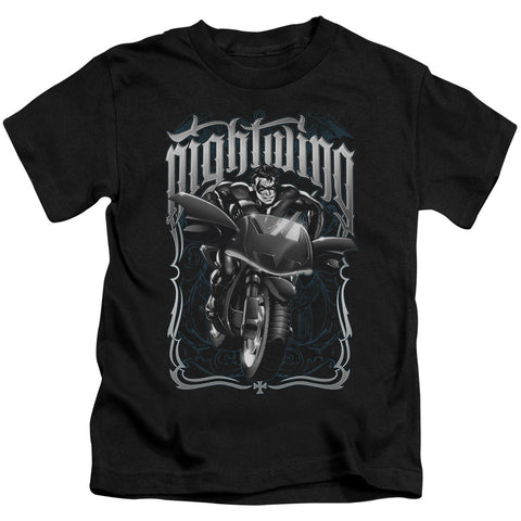 Batman Nightwing Biker Juvenile 18/1 Cotton SS T