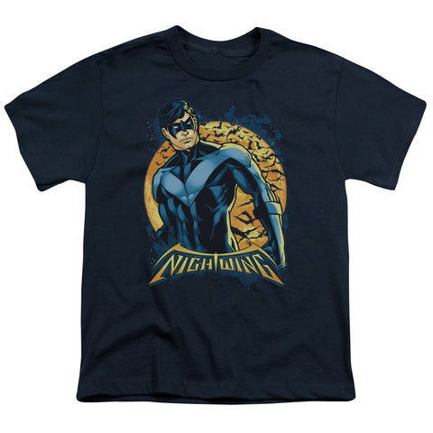 Batman Nightwing Moon Youth 18/1 100% Cotton SS T
