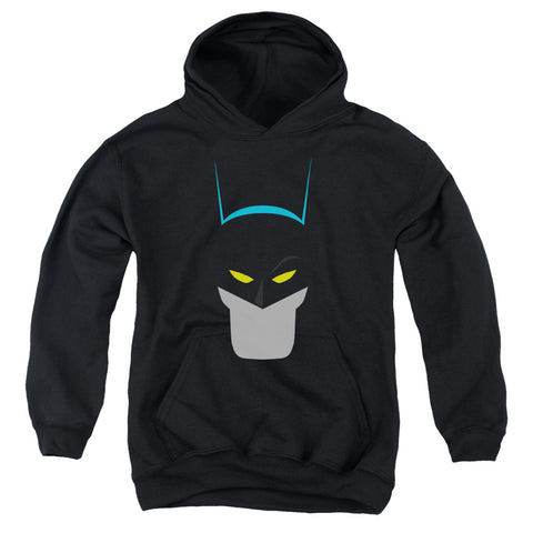 Batman Simplified Youth Cotton Poly Pull-Over Hoodie