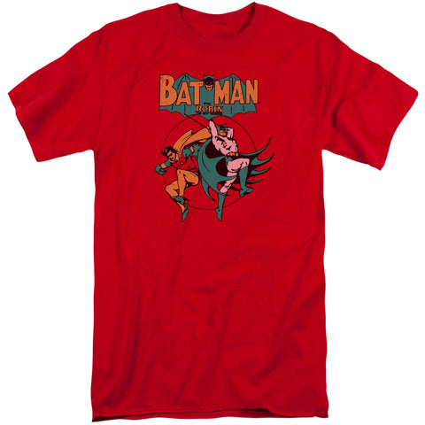 Batman Starling Shock Men's 18/1 Tall Cotton SS T